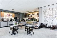The cafe will be renovated to look like this one