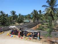beachside hotel plot outside - 2