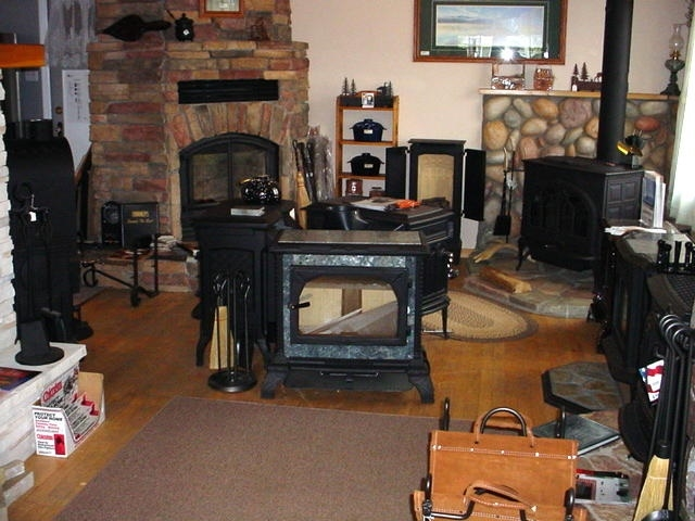 fireplace wood stove hearth - 2