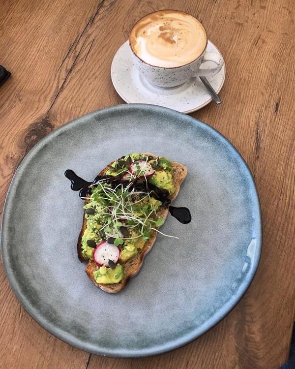 cafe serving health vegan - 5