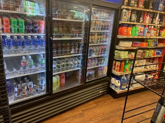 spacious gas convenience store - 5