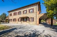 tuscan fram with vineyard - 1