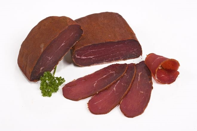 dry cured meat sausages - 8