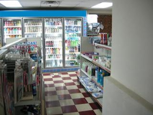 established c store with - 5