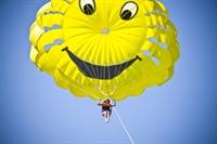 successful parasailing - 1