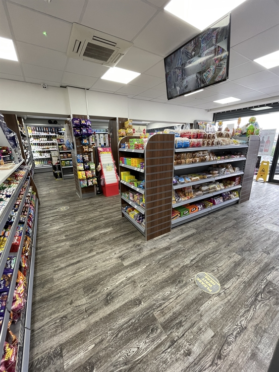 convenience store with off-license - 10