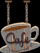 very popular coffee shop - 1