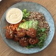 cafe serving health vegan - 2