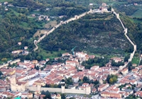 italy castle marostica city - 2