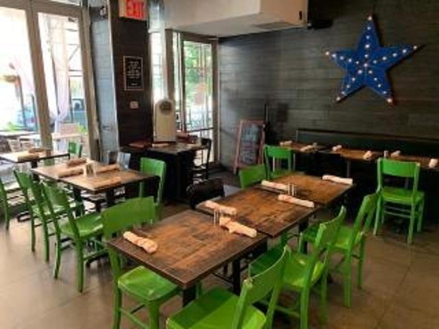 hip restaurant with full - 4