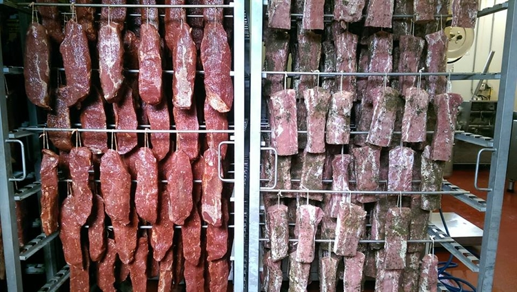 dry cured meat sausages - 6