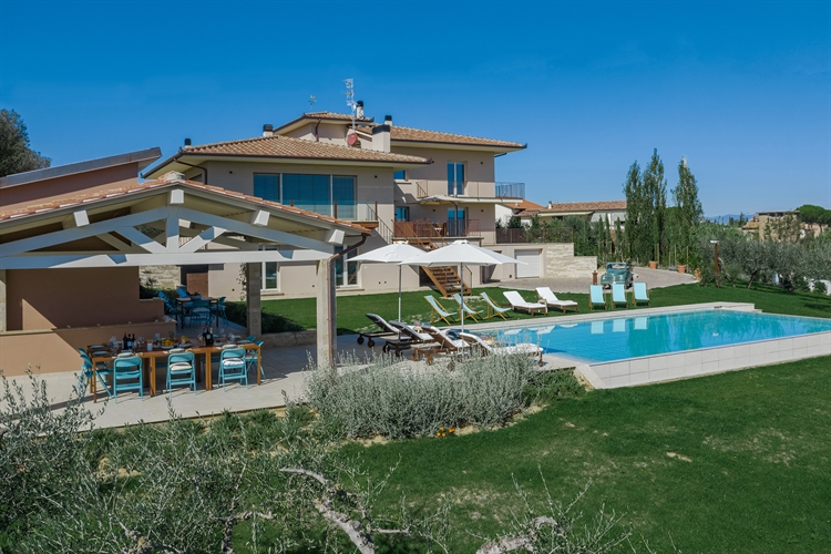 modern luxury villa tuscany - 5