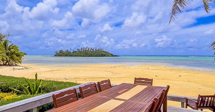 lagoonfront rarotonga island bay - 7