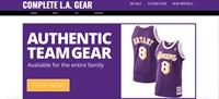 lakers e-commerce store - 1