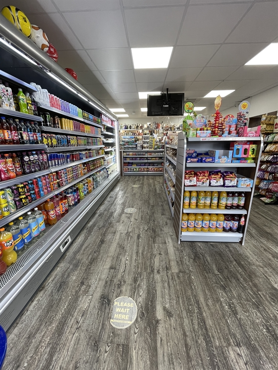 convenience store with off-license - 12