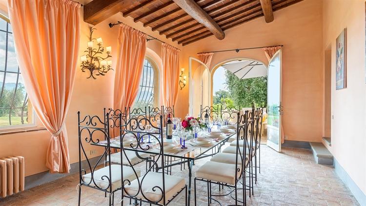 tuscan villa with swimming - 8