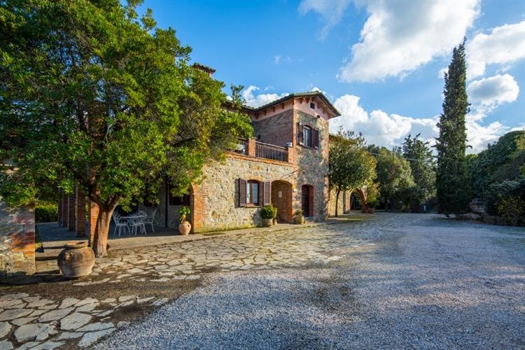 tuscan fram with vineyard - 6
