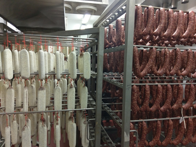 dry cured meat sausages - 14