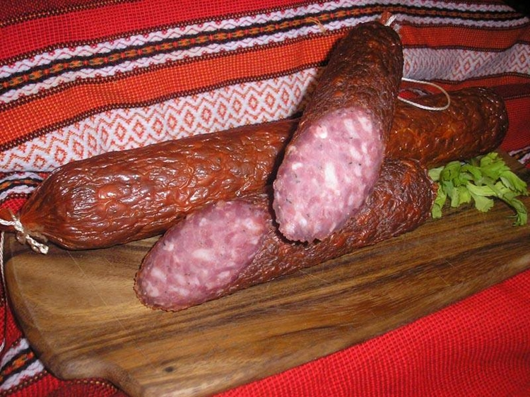 dry cured meat sausages - 9