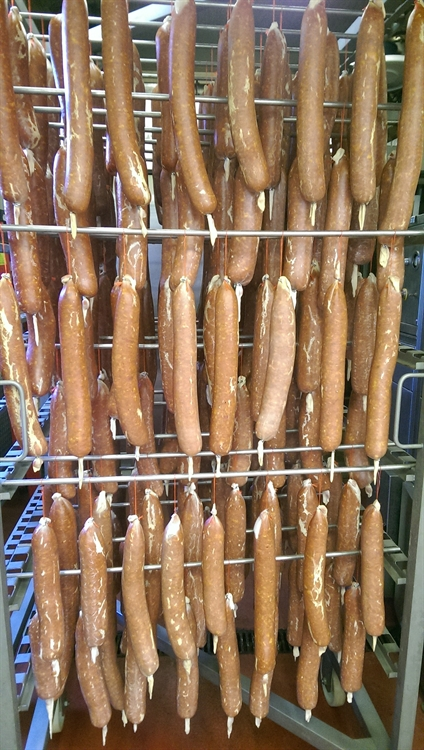 dry cured meat sausages - 11