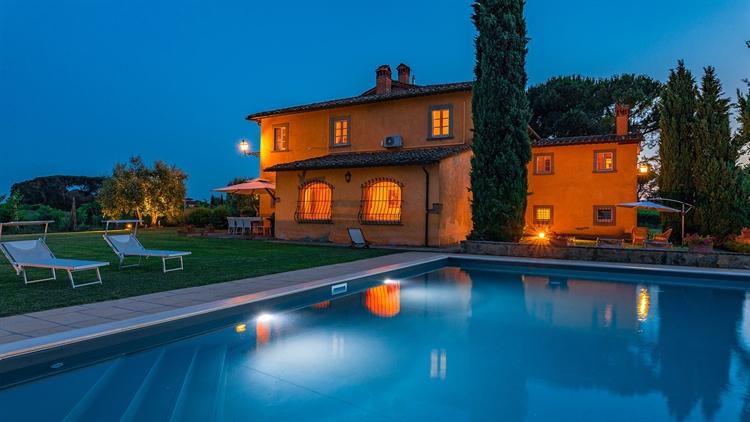 tuscan villa with swimming - 9
