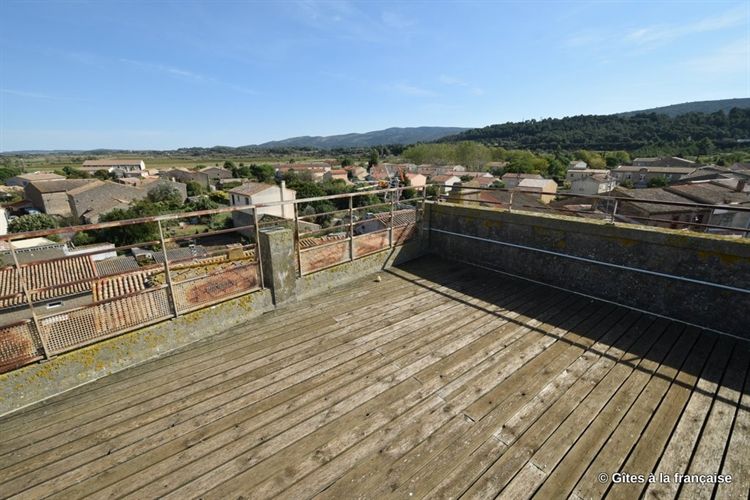 carcassonne townhouse gites walled - 14