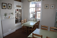 Upstairs tea room, 12 covers