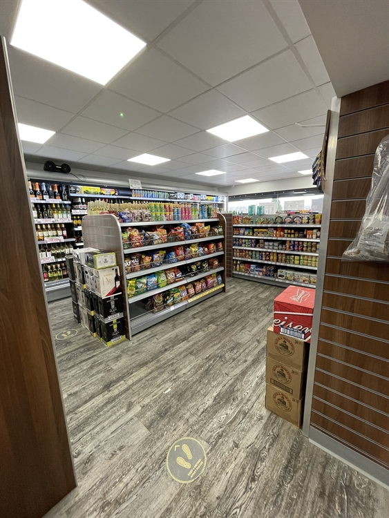 convenience store with off-license - 9