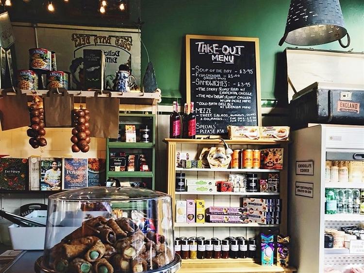 established cafe deli wine - 4