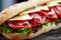 sandwich shop near busy - 2