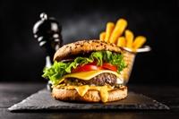 burger bar cafe takeaway - 1