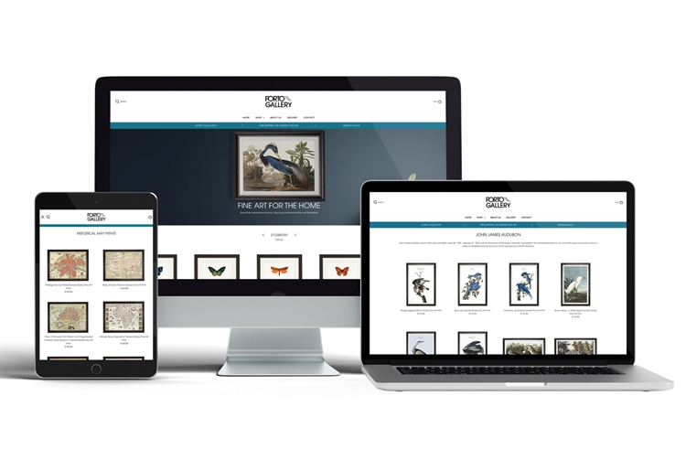 art prints ecommerce website - 6