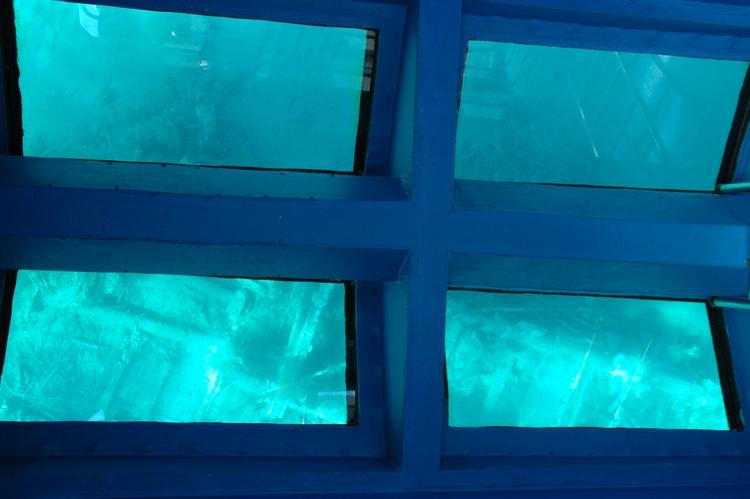 glass bottom tourist boat - 5