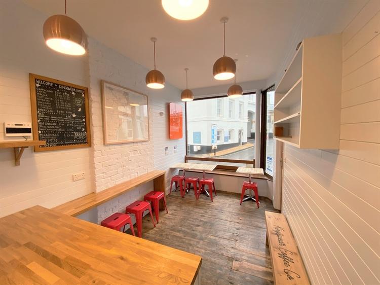 newly refurbished coffee shop - 5