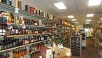 busy wine liquor store - 2