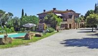 tuscan fram with vineyard - 2