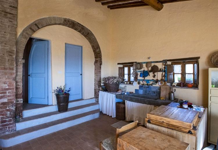 farm with vineyard montalcino - 14