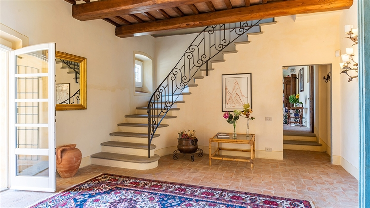 tuscan villa with swimming - 12