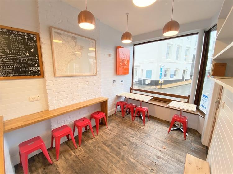newly refurbished coffee shop - 6