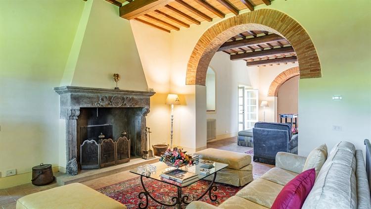 tuscan villa with swimming - 10