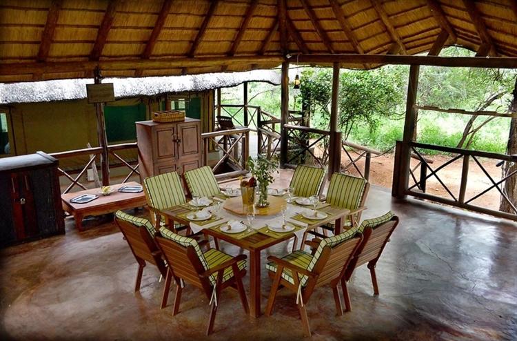 luxury safari tent camp - 10