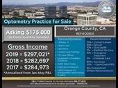 Orange County Optometry Practice For Sale